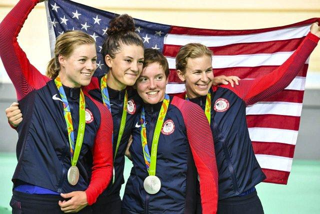 USA Cycling team in Rio 2016