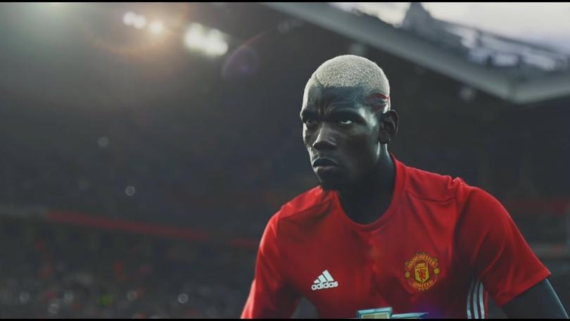 Paul Pogba in Adidas' new ad