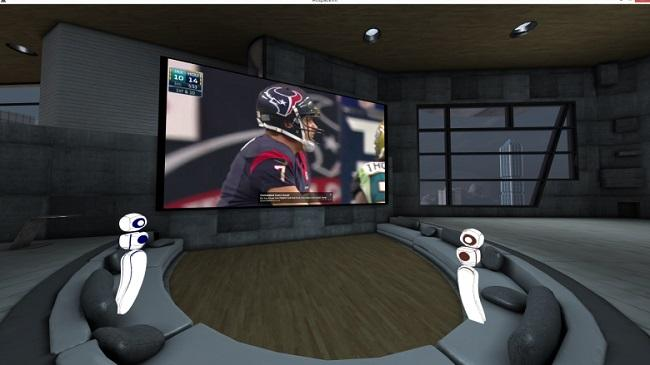 Virtual reality is invading football