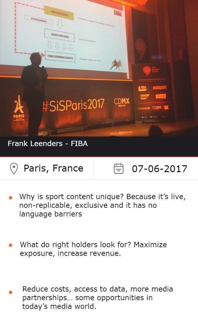 Frank Leenders - FIBA
