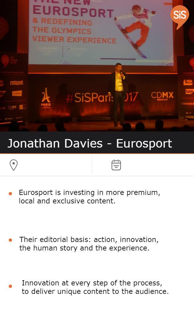 Jonathan Davies - Eurosport