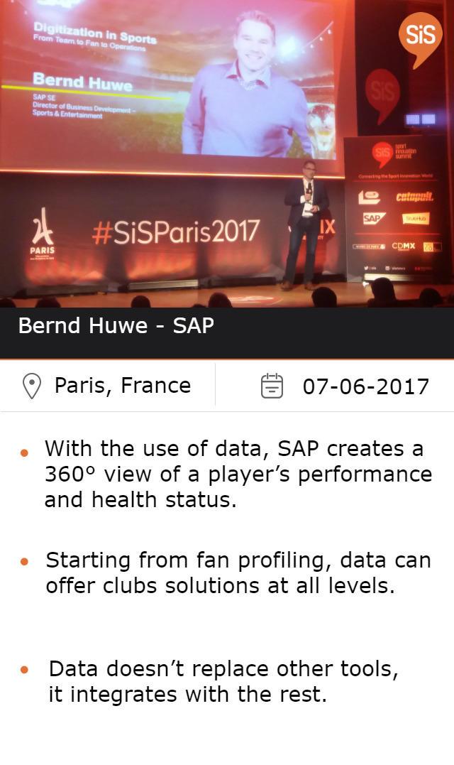 Bernd Huwe - SAP
