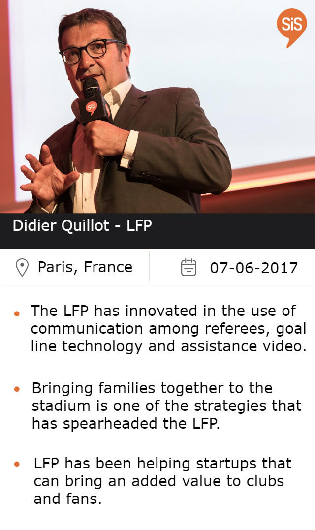 Didier Quillot - LFP, at #SiSParis2017