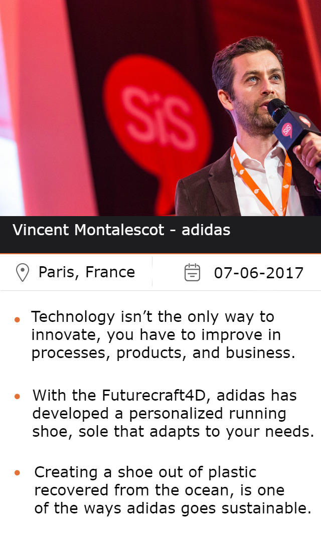 Vincent Montalescot - adidas at #SiSParis2017