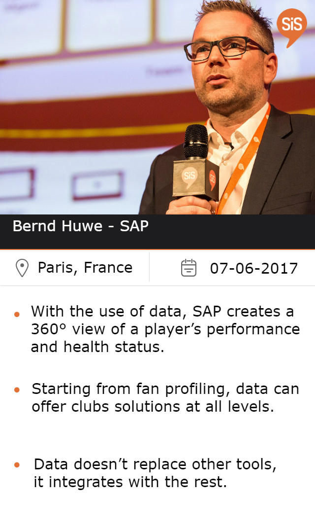 Bernd Huwe - SAP, at #SiSParis2017