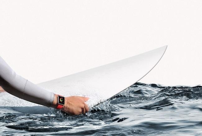 The Apple Watch has a new feature for surfers