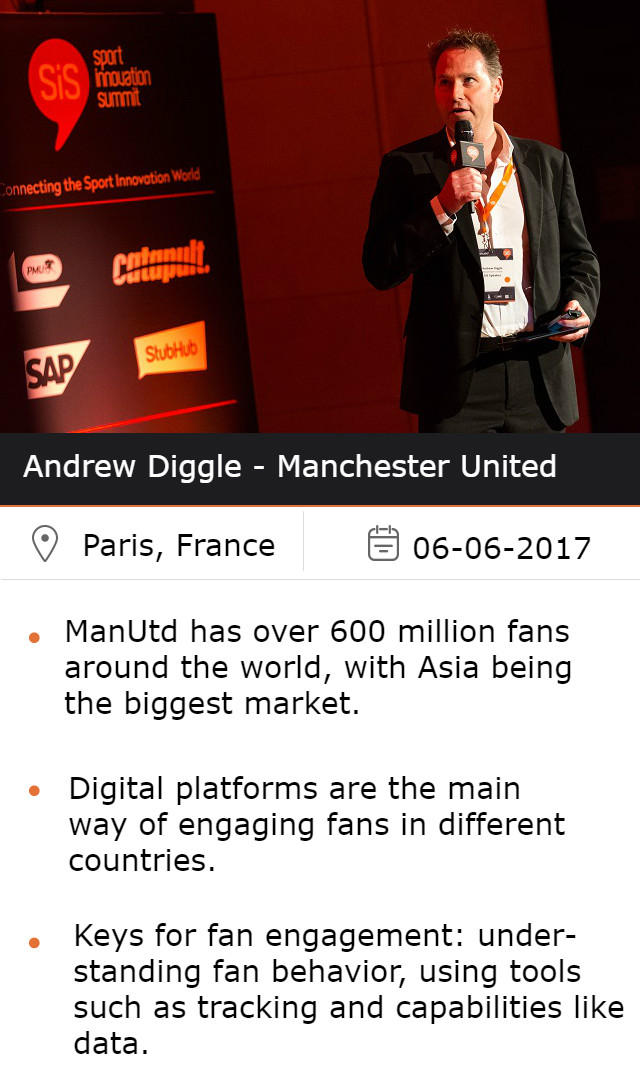 Andrew Diggle - Manchester United, at #SiSParis2017