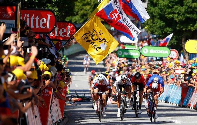 The Tour de France 2017