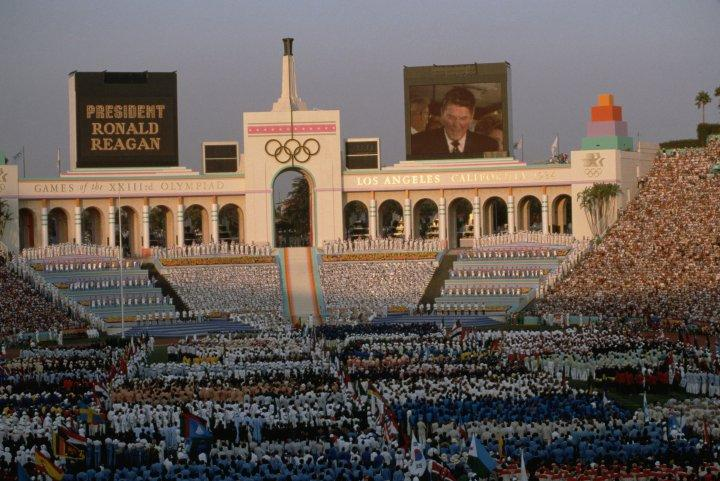 The 1984 Olympic Games in Los Angeles