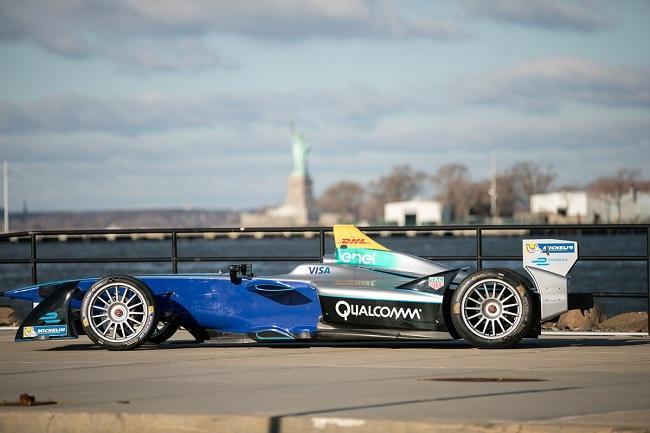 Formula E takes it tech to New York
