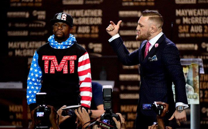 The McGregor vs Mayweather gifht is generating money for everyone involved