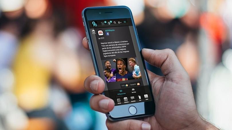 Sports social network 9ineSports