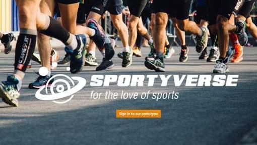 Belgian startup Sportiverse