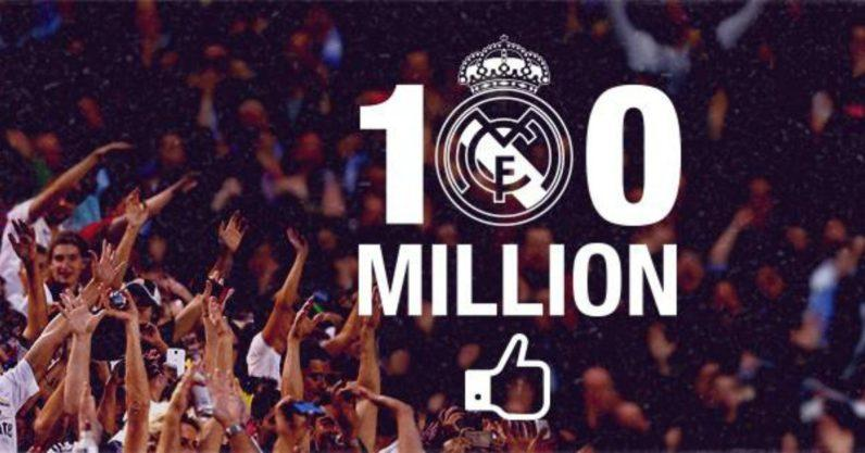 Real Madrid keeps growing on social networks