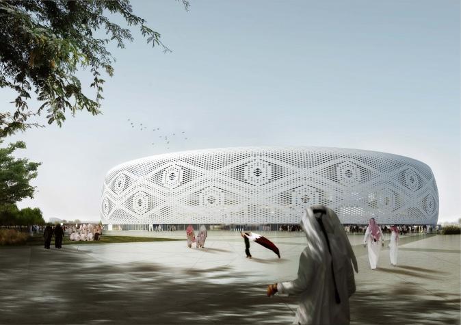 Qatar 2022's Al Thumama stadium