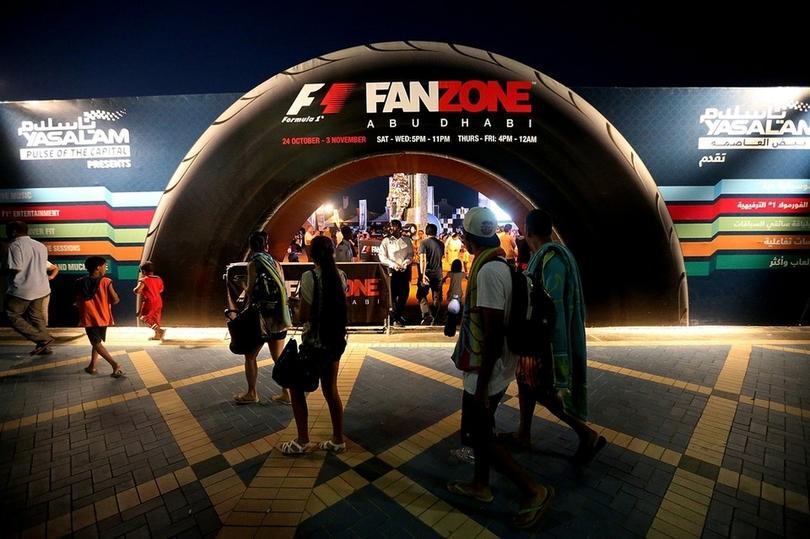 F1 Fan Zone
