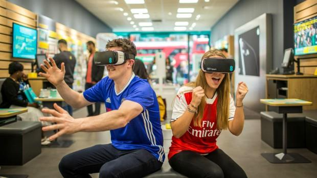 The Premier League is taking advantage of virtual reality