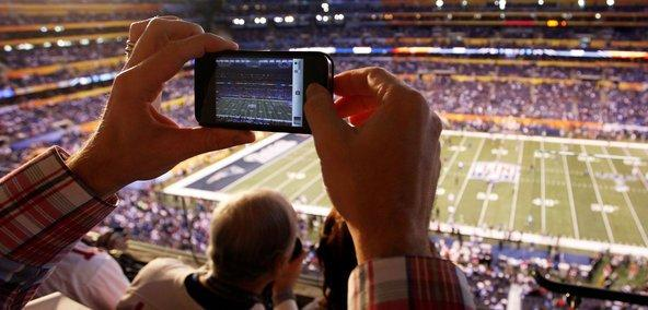 Tech has helped to record sports