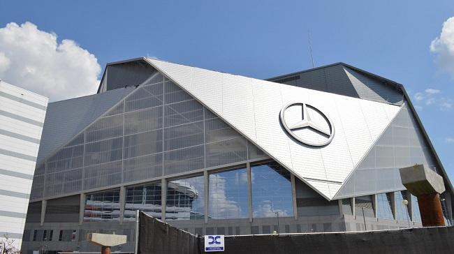 The Mercedes-Benz Arena