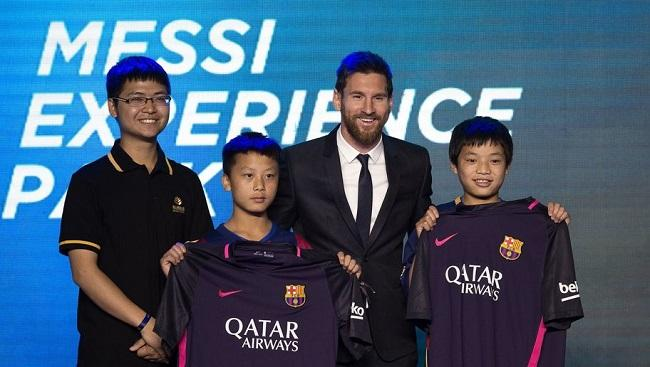 The Messi Experience Park will open in China