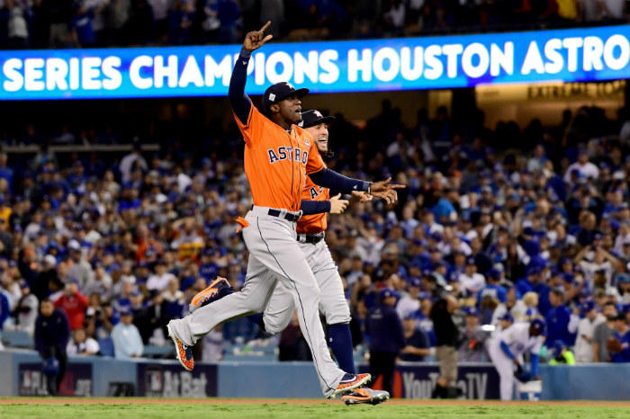 The Houston Astros won the 2017 World Series