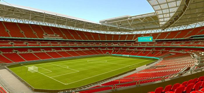 3D rendering of Wembley Stadium