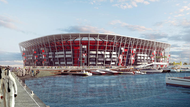 Qatar 2022's demountable World Cup stadium