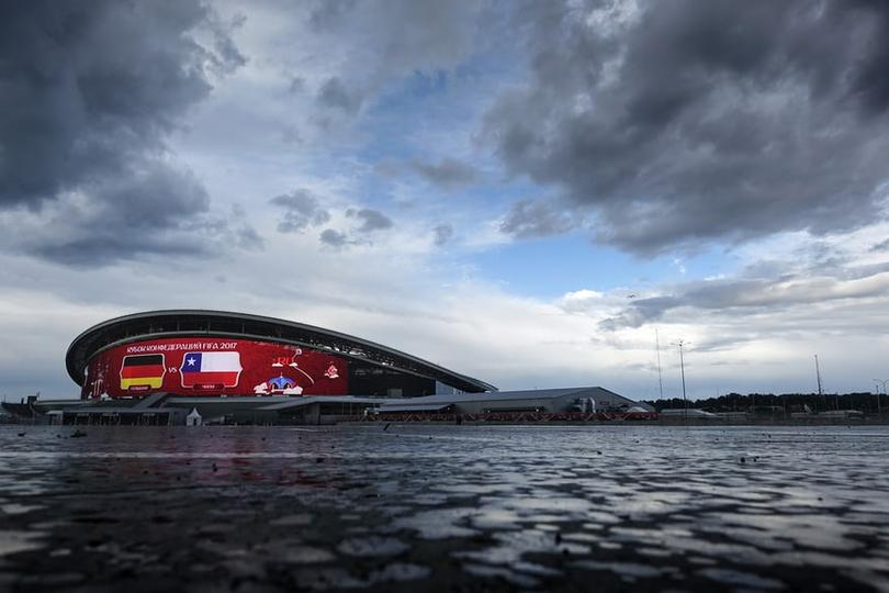 Kazan Arena, one of Russia 2018's stadiums