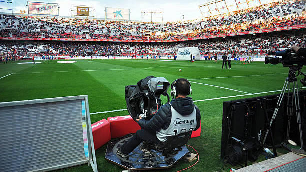 The broadcast business in La Liga