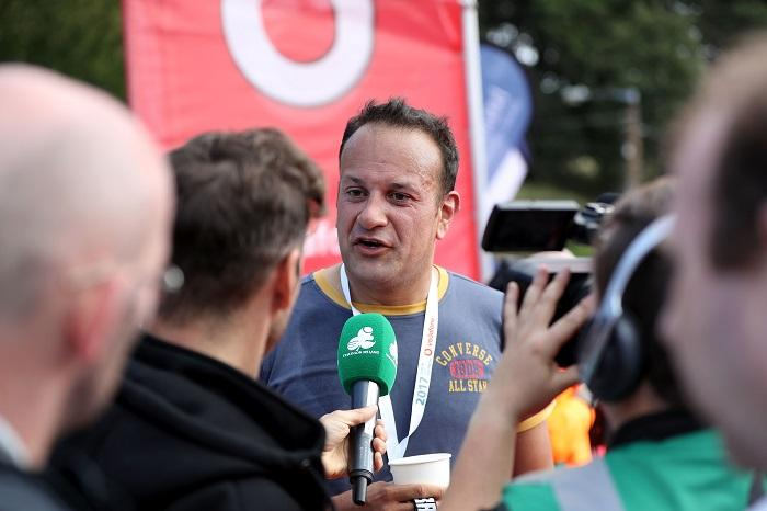 Ireland's Prime Minister Leo Varadkar, actively takes part Triathlon Ireland