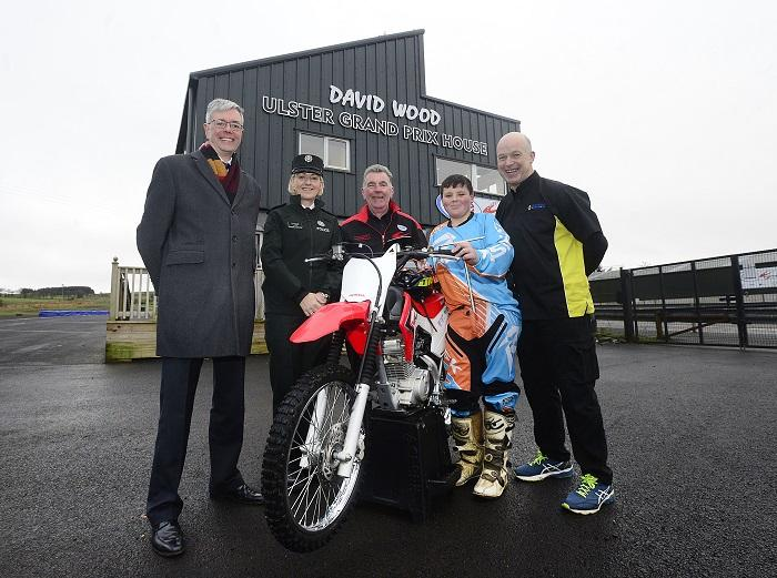 Motorcycle education project for young people launched by MCE Ulster Grand Prix