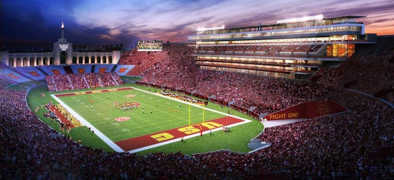 The LA Memorial Coliseum wants to increase revenues with its renovation