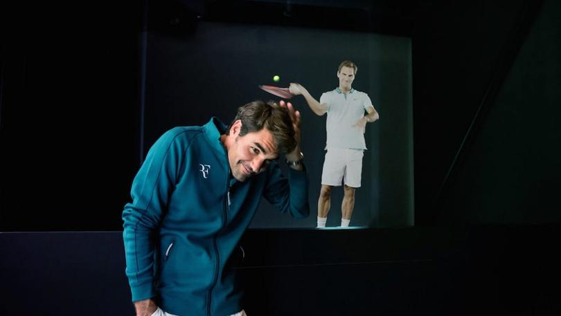VNTANA startup uses hologram techology to bring stars such as Roger Federer closer to fans