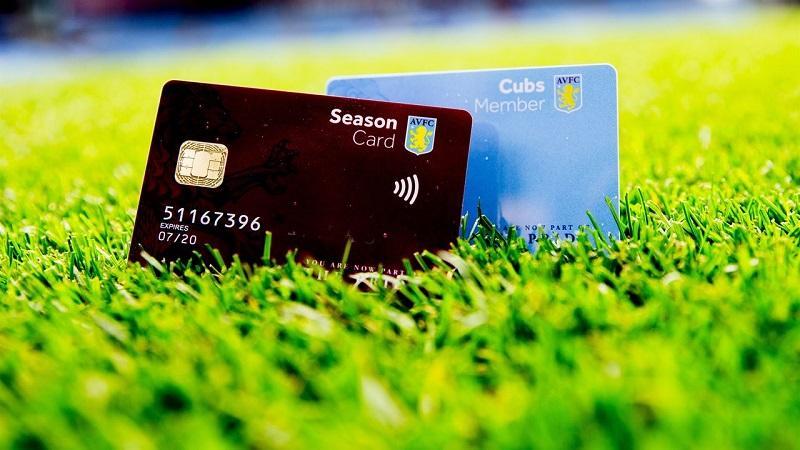 Aston Villa's season card