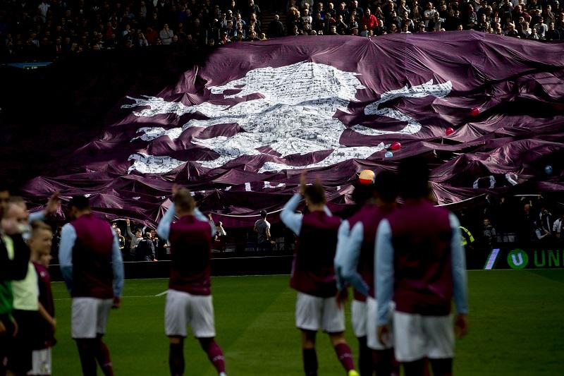 Aston Villa has presented its integrated fan card payment technology