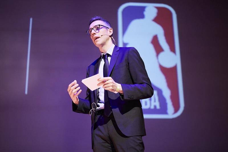 Emilio García Duarte, Director Marketing Latam de la NBA, en el #SiSMexico2018