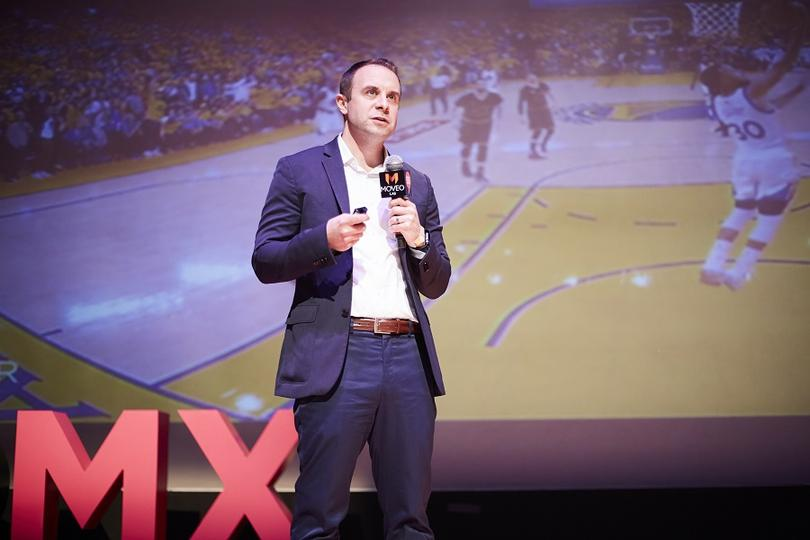 Scott Stanchak, VP Emerging Technologies de la NBA, en el #SiSMexico2018