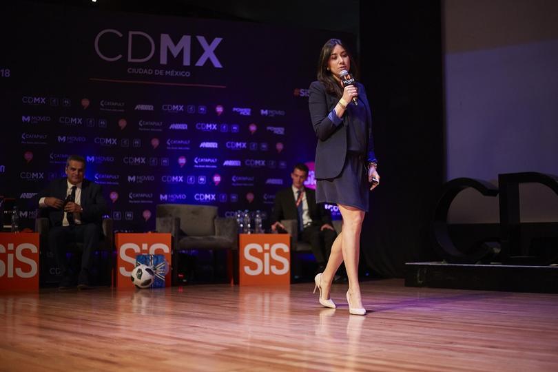 Isaura Morales, de Facebook, en el #SiSMexico2018