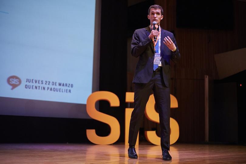 Quentin Paquelier, Director de Marketing y Comunicación del Club América, en el #SiSMexico2018