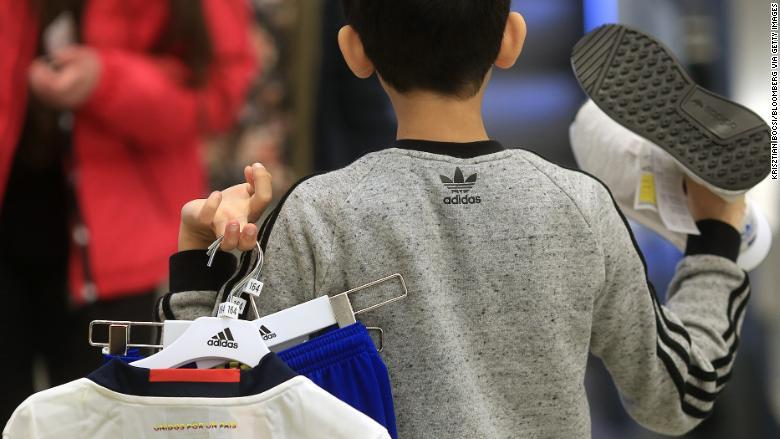 Adidas dominates the American market