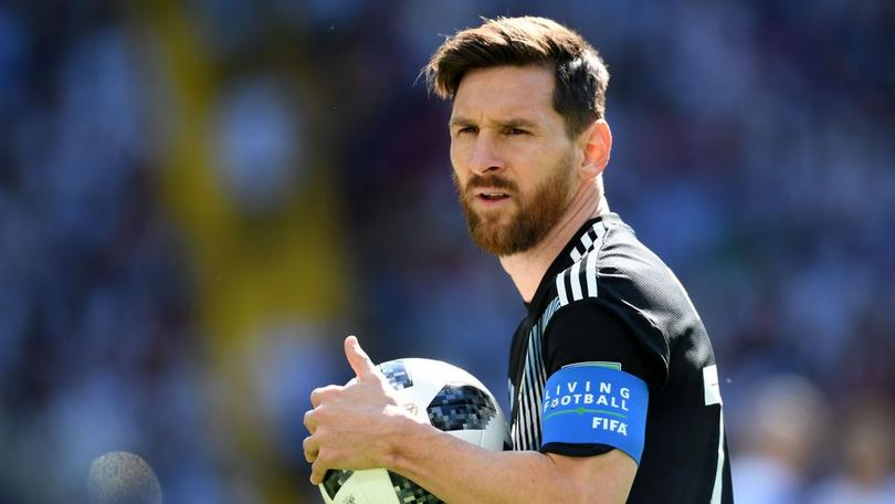 Lio Messi at the Russia 2018 World Cup