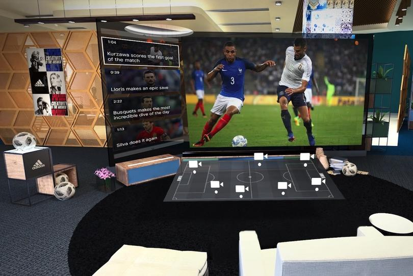 VR has been used at the World Cup to enhance fan experience