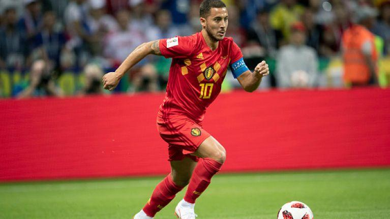 Eden Hazard gave an intwerview as an hologram during the World Cup