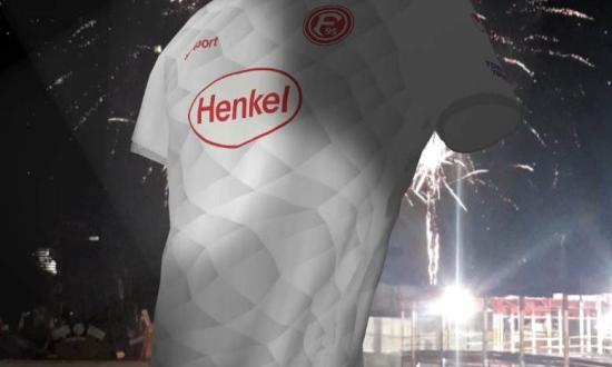 German side Dusseldorf used augmented reality to present their new jersey
