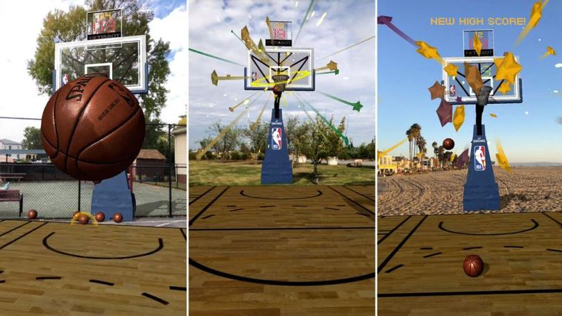 Augmented reality is transforming the NBA fan experience