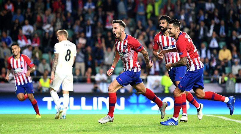 Atletico de Madrid and Real Madrid