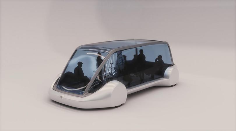 Elon Musk's proposed shuttle to Dodger Stadium