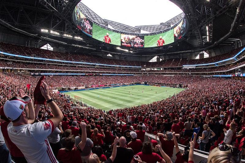 Atlanta United's Merdes Benz Stadium