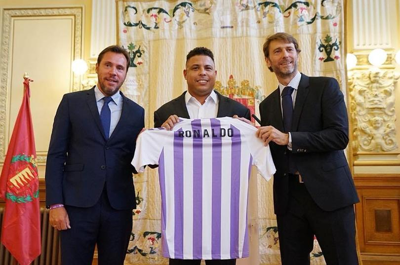 Ronaldo buys Real Valladolid for €30m