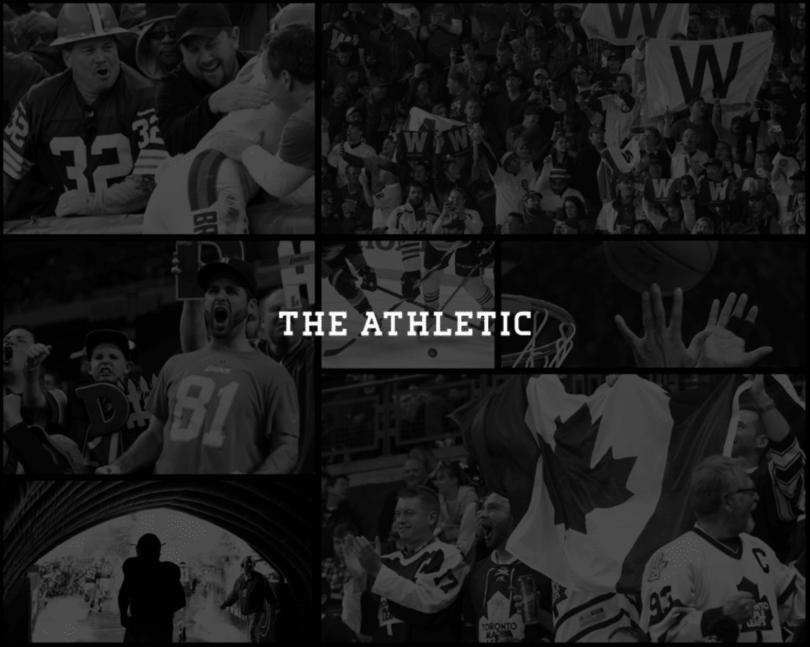 Sports startup The Athletic
